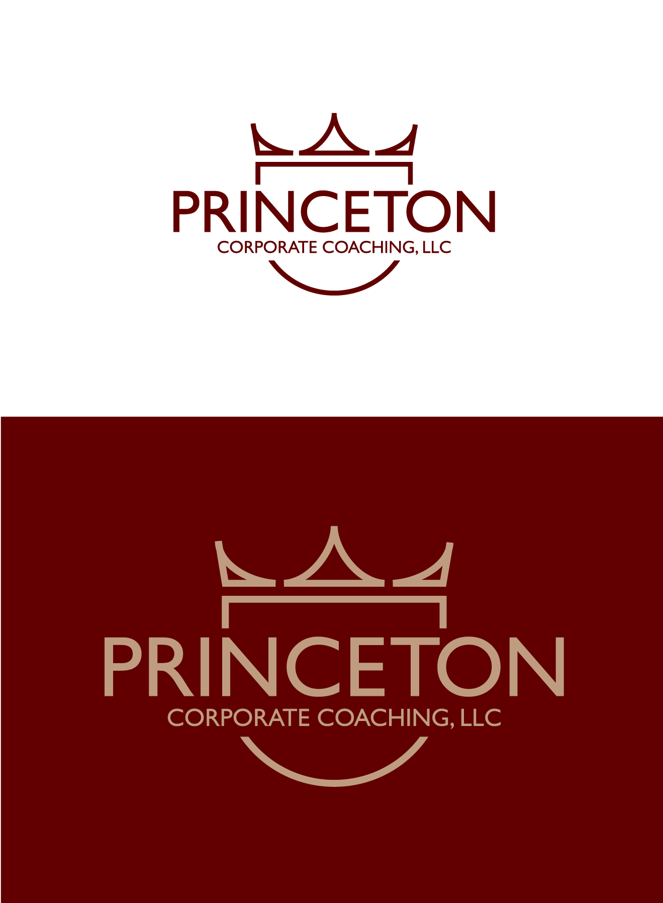 Logo Design by Wilfredo Mendoza - Entry No. 216 in the Logo Design Contest Unique Logo Design Wanted for Princeton Corporate Coaching, LLC.