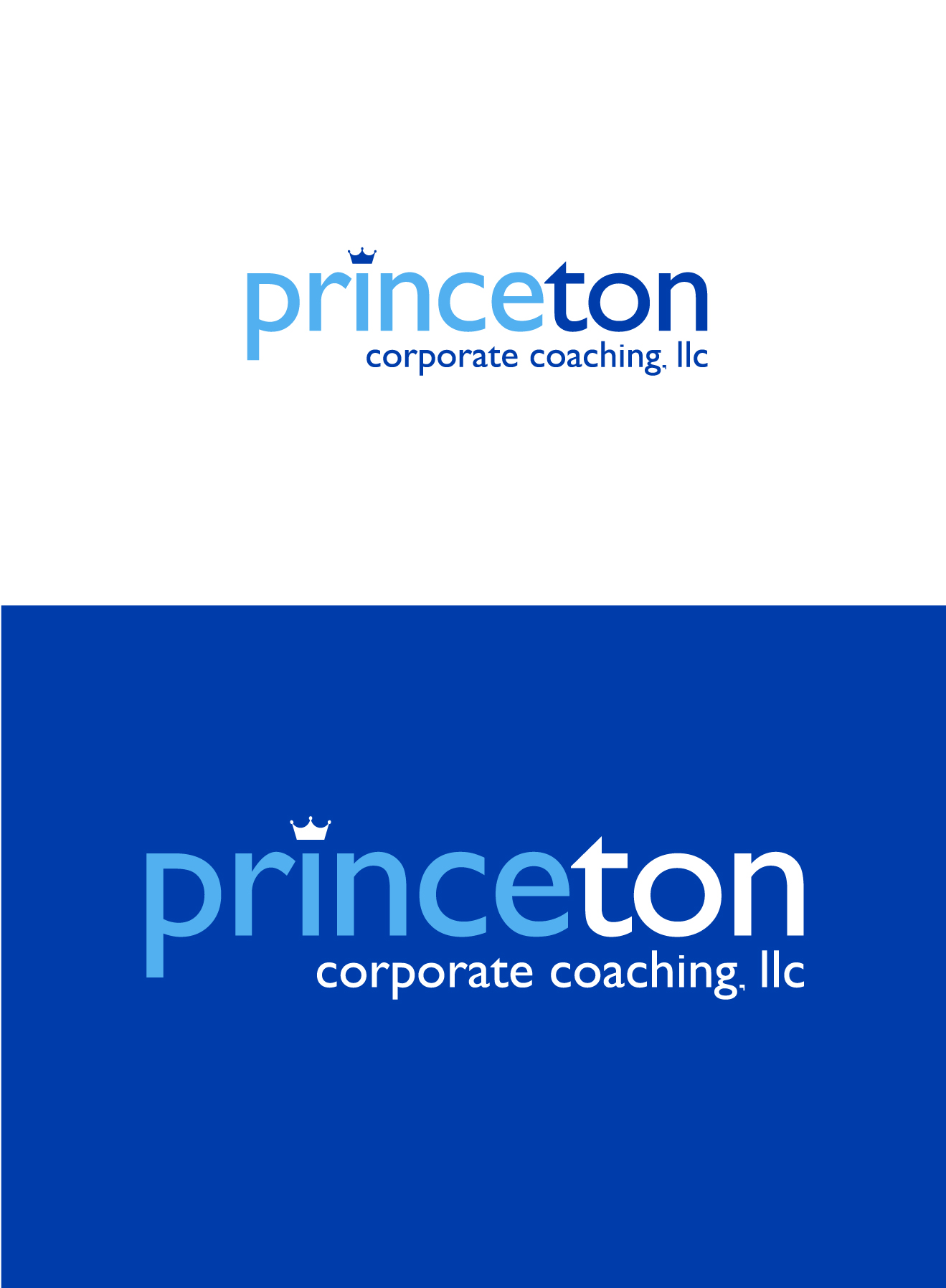 Logo Design by Wilfredo Mendoza - Entry No. 217 in the Logo Design Contest Unique Logo Design Wanted for Princeton Corporate Coaching, LLC.