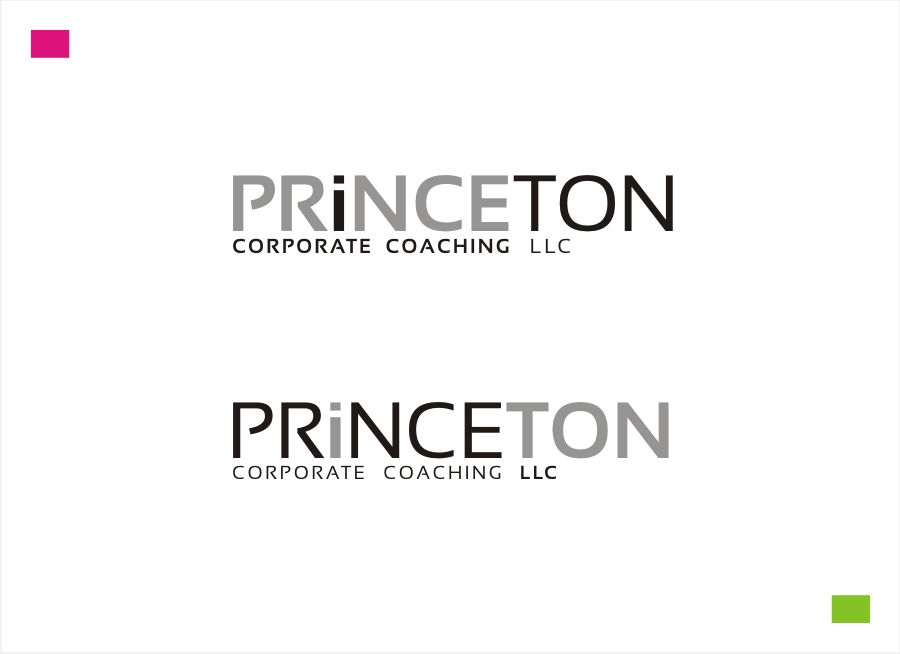 Logo Design by Private User - Entry No. 235 in the Logo Design Contest Unique Logo Design Wanted for Princeton Corporate Coaching, LLC.