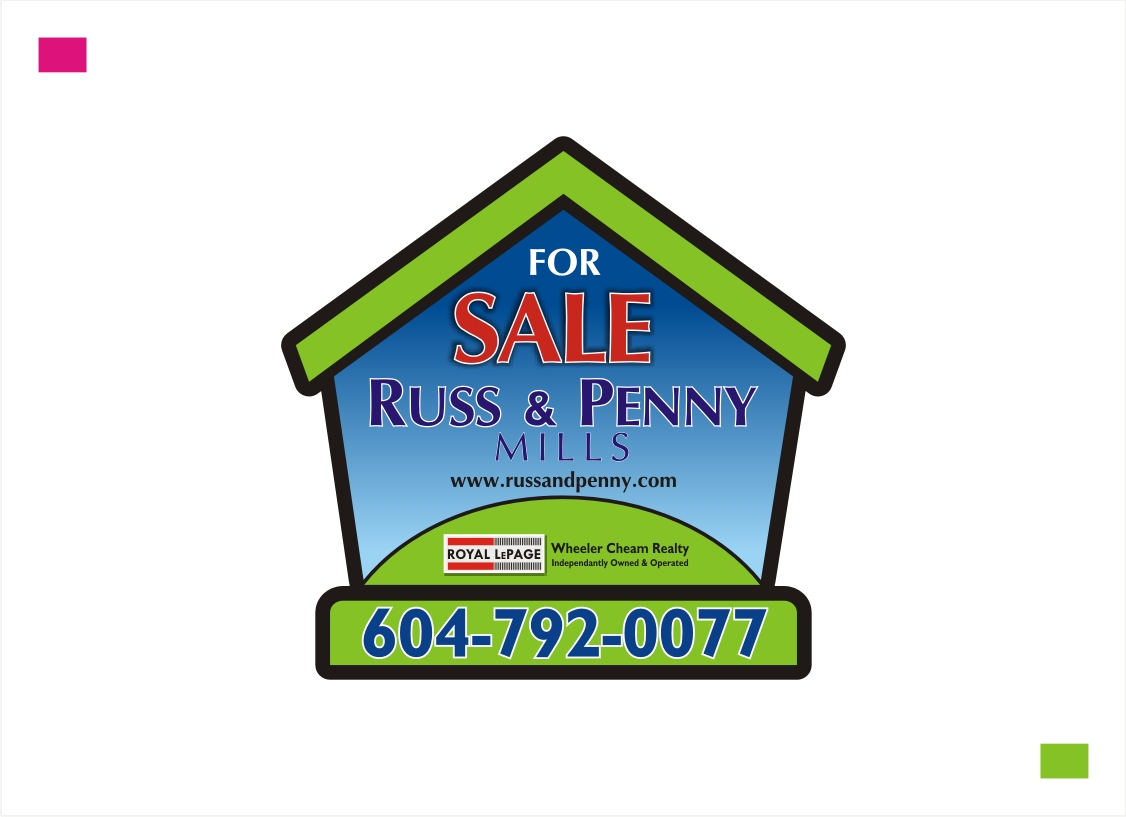 Custom Design by Private User - Entry No. 189 in the Custom Design Contest Fun Custom Design for Russ and Penny Mills (realtors).