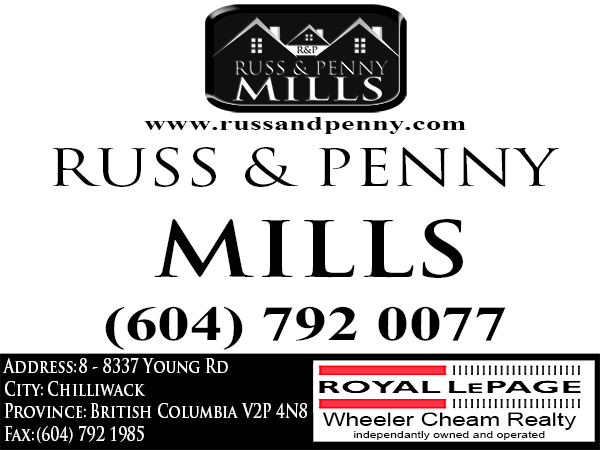 Custom Design by Mythos Designs - Entry No. 195 in the Custom Design Contest Fun Custom Design for Russ and Penny Mills (realtors).
