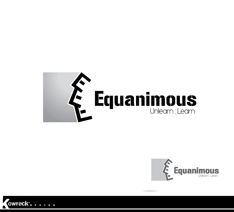 Logo Design by kowreck - Entry No. 5 in the Logo Design Contest Logo Design : EQUANIMOUS : Productivity | Learning | Design.