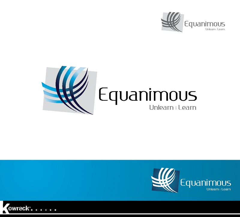 Logo Design by kowreck - Entry No. 6 in the Logo Design Contest Logo Design : EQUANIMOUS : Productivity | Learning | Design.