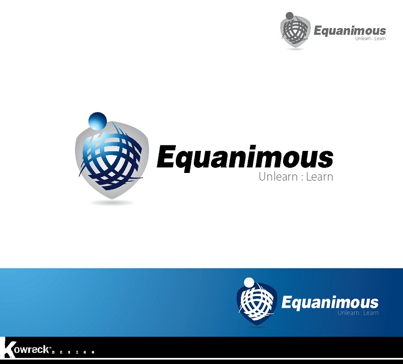 Logo Design by kowreck - Entry No. 7 in the Logo Design Contest Logo Design : EQUANIMOUS : Productivity | Learning | Design.