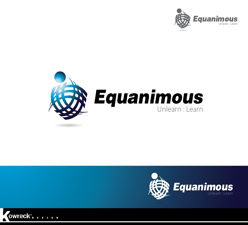 Logo Design by kowreck - Entry No. 8 in the Logo Design Contest Logo Design : EQUANIMOUS : Productivity | Learning | Design.