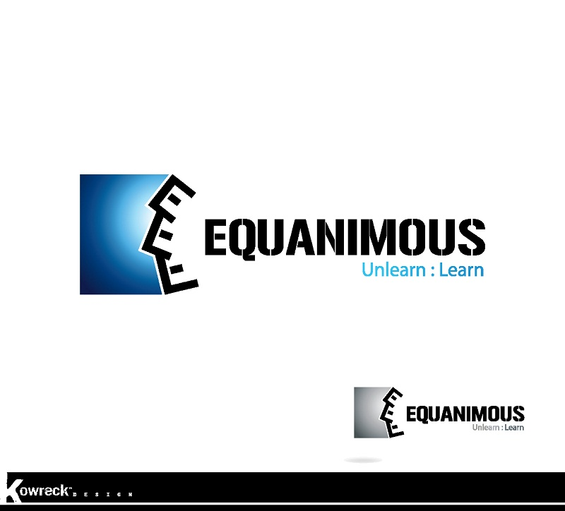 Logo Design by kowreck - Entry No. 9 in the Logo Design Contest Logo Design : EQUANIMOUS : Productivity | Learning | Design.