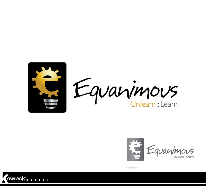 Logo Design by kowreck - Entry No. 12 in the Logo Design Contest Logo Design : EQUANIMOUS : Productivity | Learning | Design.