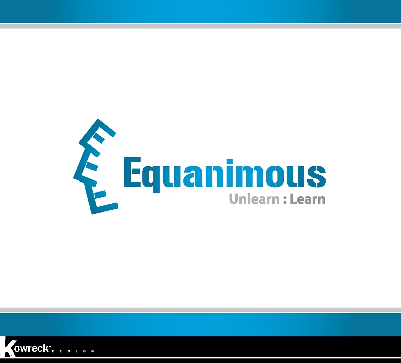 Logo Design by kowreck - Entry No. 13 in the Logo Design Contest Logo Design : EQUANIMOUS : Productivity | Learning | Design.