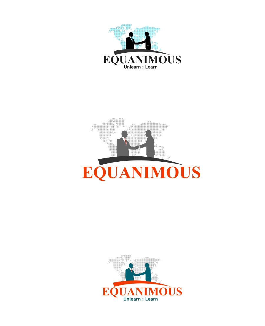 Logo Design by Private User - Entry No. 15 in the Logo Design Contest Logo Design : EQUANIMOUS : Productivity | Learning | Design.