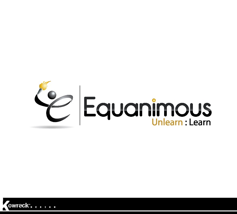 Logo Design by kowreck - Entry No. 17 in the Logo Design Contest Logo Design : EQUANIMOUS : Productivity | Learning | Design.