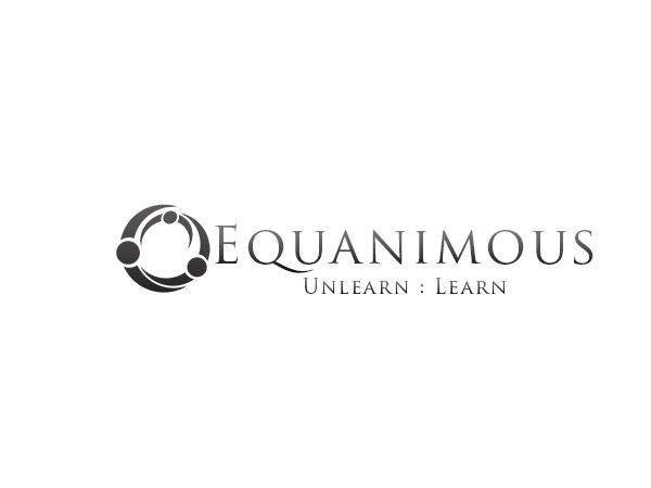 Logo Design by Mythos Designs - Entry No. 20 in the Logo Design Contest Logo Design : EQUANIMOUS : Productivity | Learning | Design.