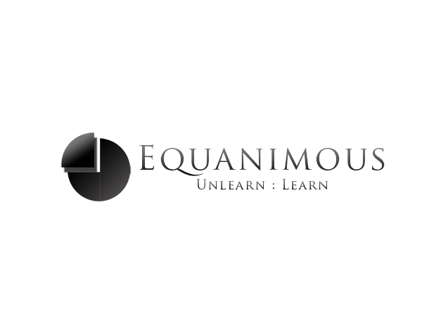 Logo Design by Mythos Designs - Entry No. 21 in the Logo Design Contest Logo Design : EQUANIMOUS : Productivity | Learning | Design.