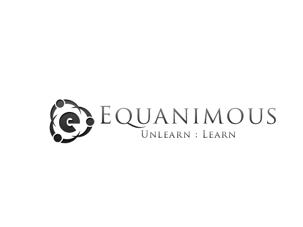 Logo Design by Mythos Designs - Entry No. 22 in the Logo Design Contest Logo Design : EQUANIMOUS : Productivity | Learning | Design.