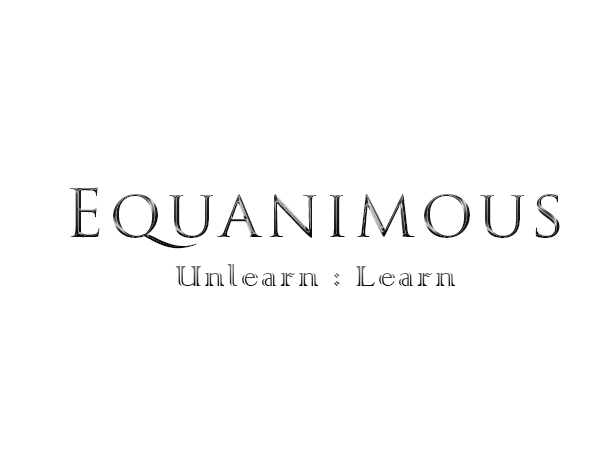 Logo Design by Mythos Designs - Entry No. 23 in the Logo Design Contest Logo Design : EQUANIMOUS : Productivity | Learning | Design.