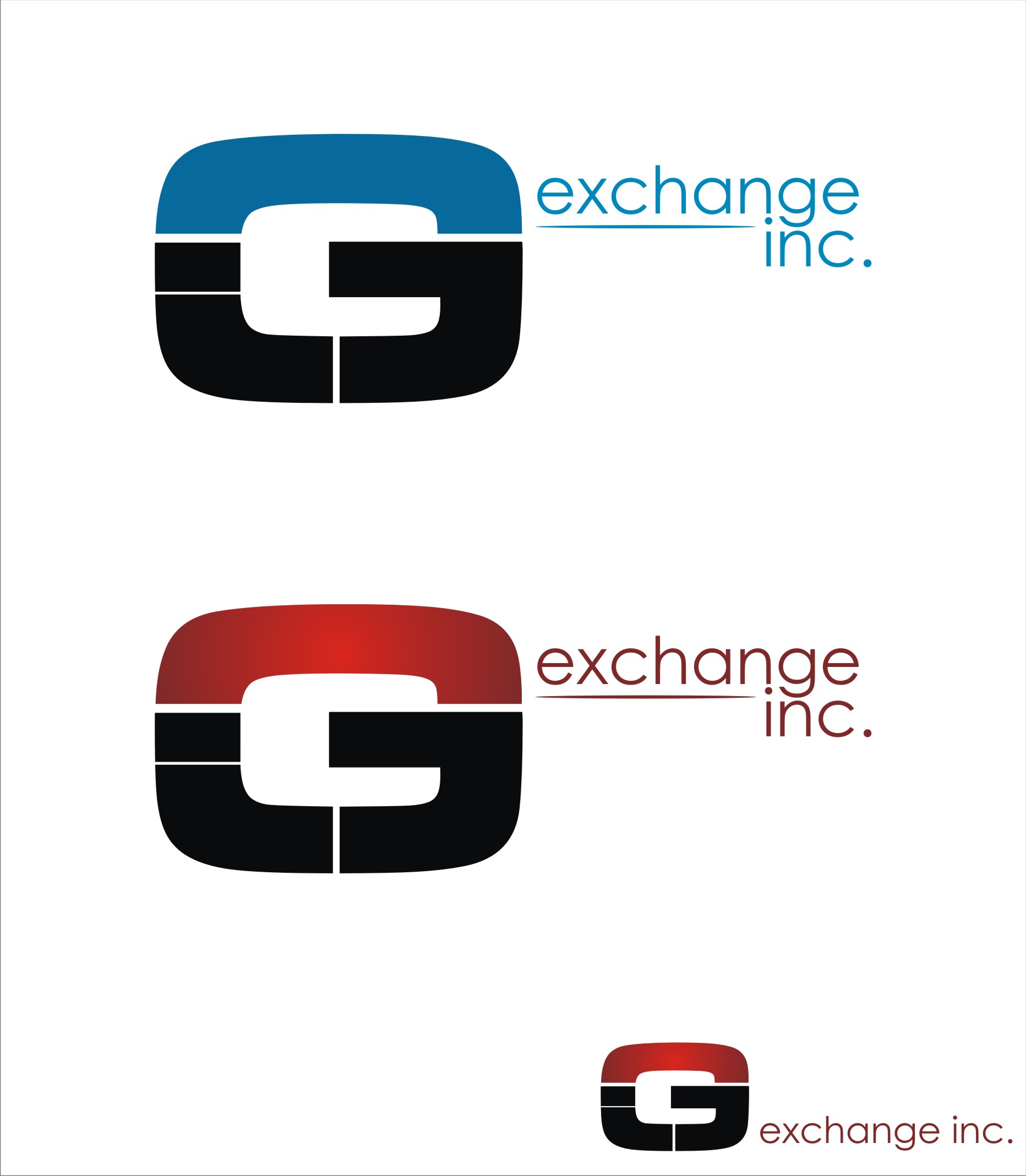Logo Design by kambal - Entry No. 5 in the Logo Design Contest Logo Design Needed for Exciting New Company GIC Exchange Inc..
