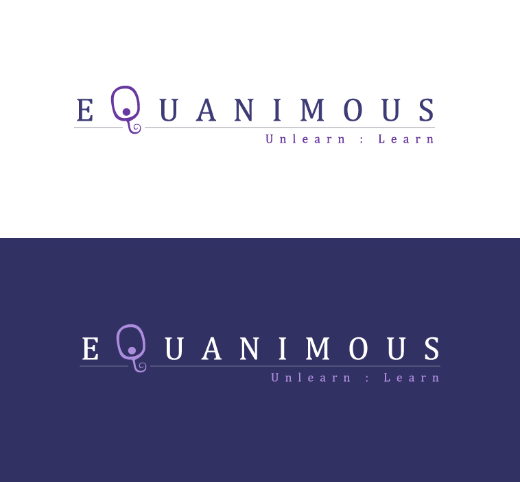 Logo Design by elmd - Entry No. 40 in the Logo Design Contest Logo Design : EQUANIMOUS : Productivity | Learning | Design.