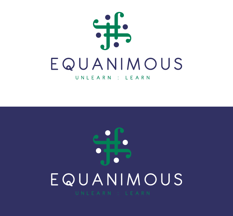 Logo Design by elmd - Entry No. 41 in the Logo Design Contest Logo Design : EQUANIMOUS : Productivity | Learning | Design.