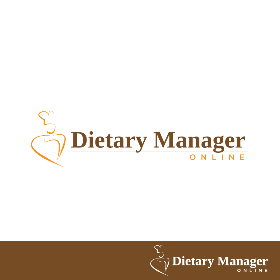Logo Design by Edward Goodwin - Entry No. 10 in the Logo Design Contest Fun Logo Design for Dietary Manager Online.