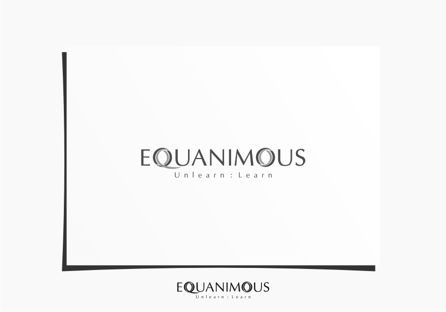 Logo Design by graphicleaf - Entry No. 61 in the Logo Design Contest Logo Design : EQUANIMOUS : Productivity | Learning | Design.