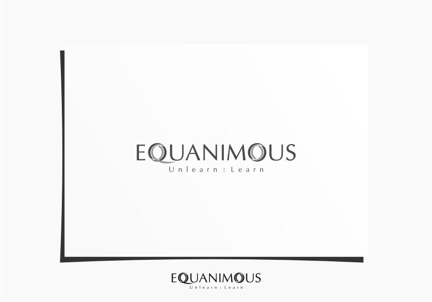Logo Design by Muhammad Nasrul chasib - Entry No. 61 in the Logo Design Contest Logo Design : EQUANIMOUS : Productivity | Learning | Design.