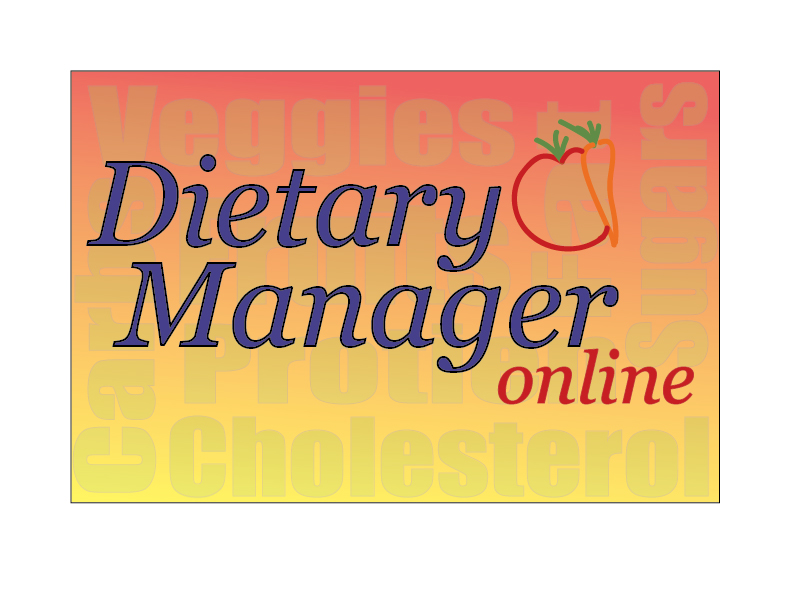 Logo Design by Monte Drebenstedt - Entry No. 12 in the Logo Design Contest Fun Logo Design for Dietary Manager Online.