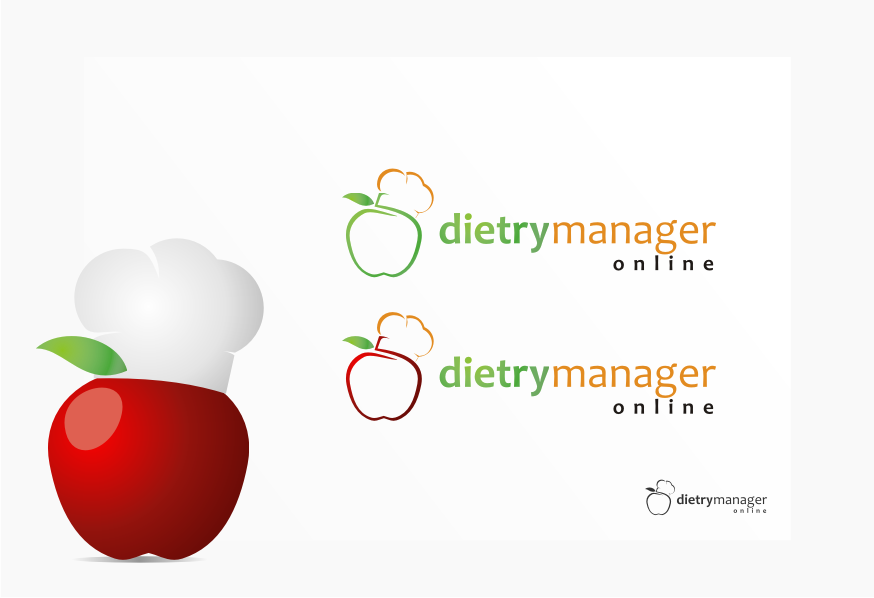 Logo Design by graphicleaf - Entry No. 14 in the Logo Design Contest Fun Logo Design for Dietary Manager Online.