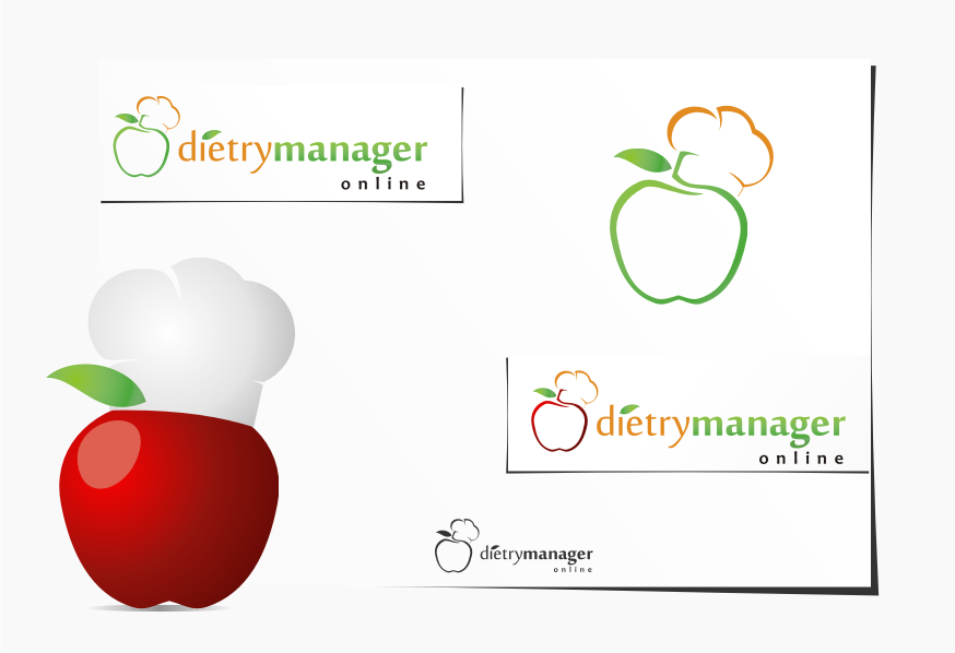 Logo Design by graphicleaf - Entry No. 15 in the Logo Design Contest Fun Logo Design for Dietary Manager Online.