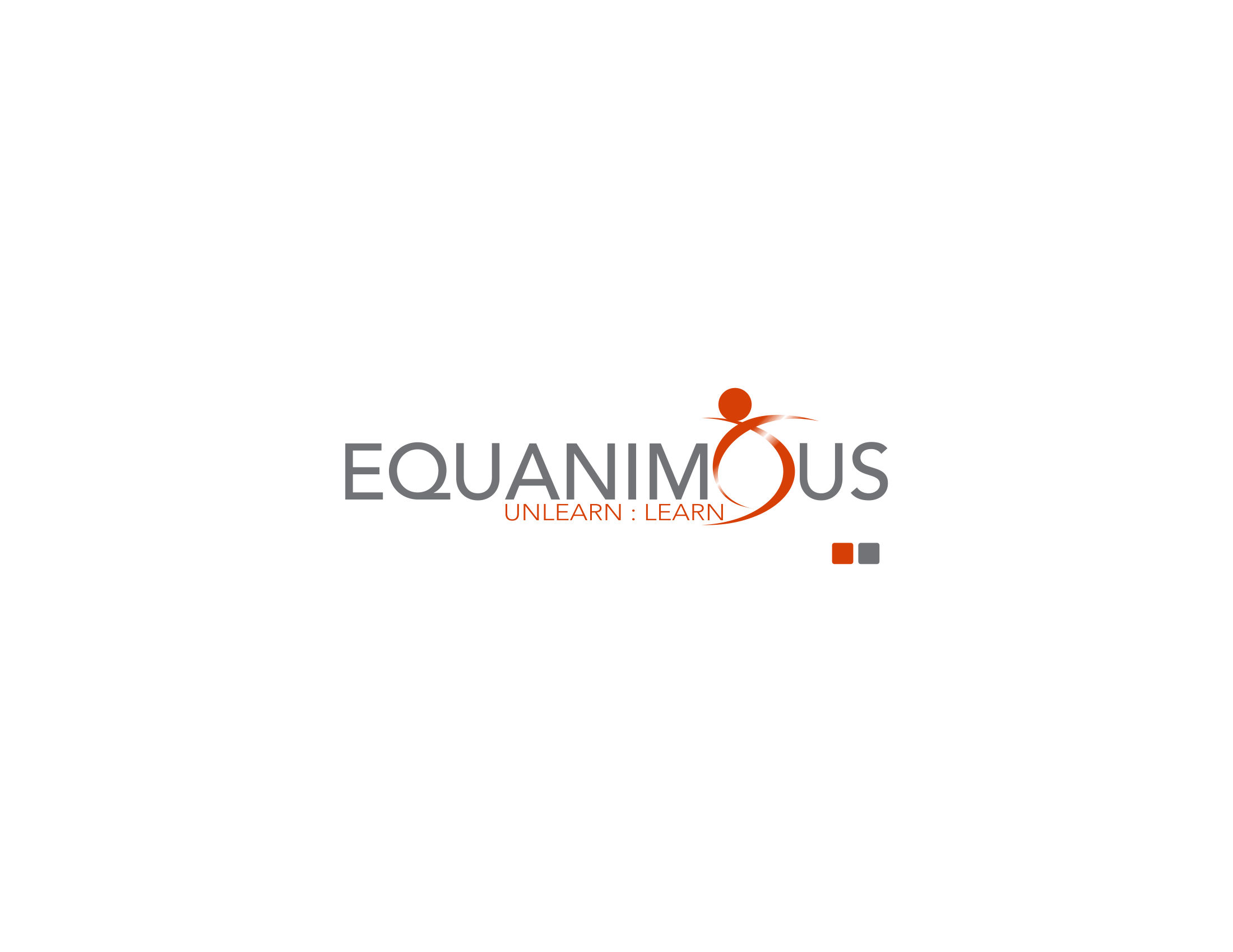 Logo Design by Private User - Entry No. 70 in the Logo Design Contest Logo Design : EQUANIMOUS : Productivity | Learning | Design.