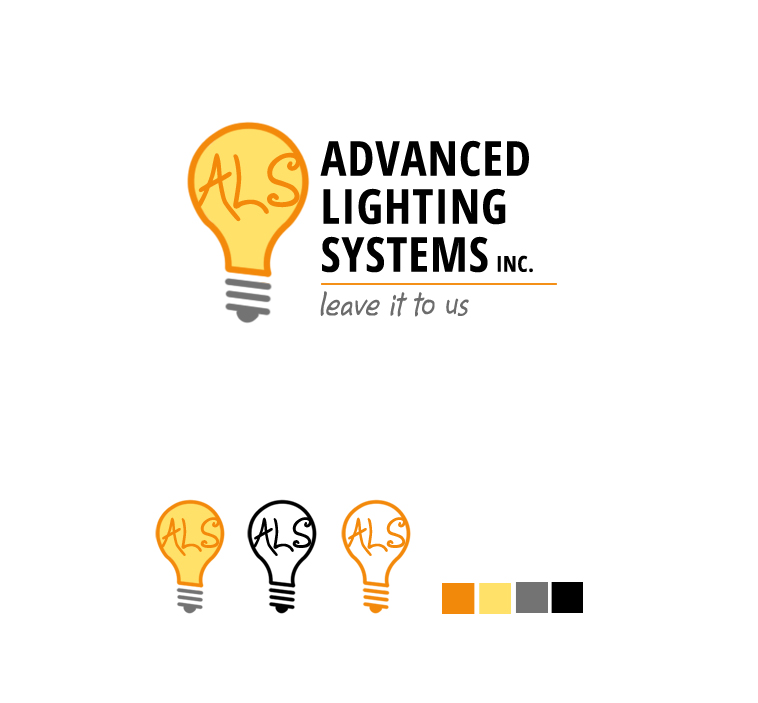 Logo Design by elmd - Entry No. 2 in the Logo Design Contest New Logo Design Needed for  Company Advanced Lighting Systems Inc..