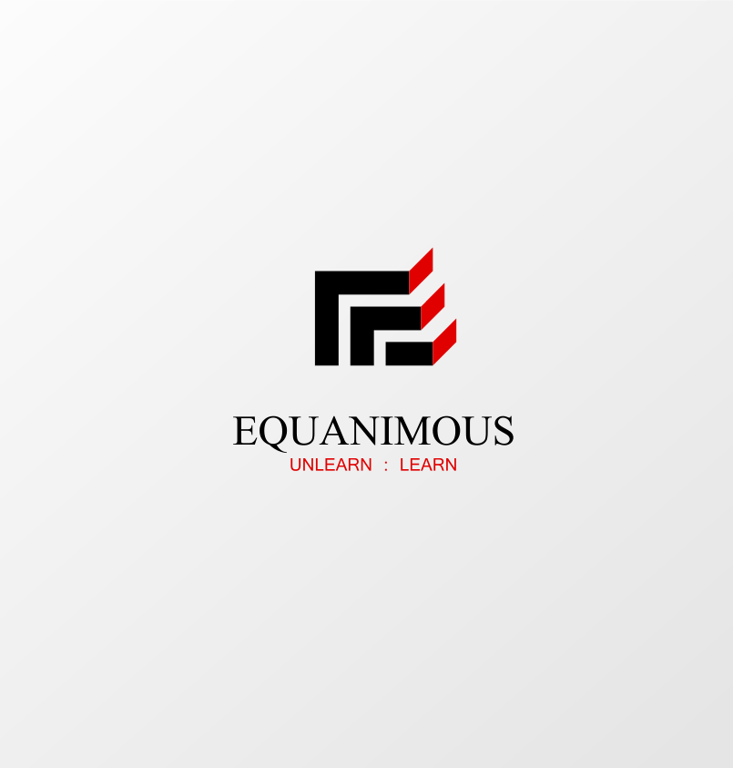 Logo Design by Jorge Sardon - Entry No. 76 in the Logo Design Contest Logo Design : EQUANIMOUS : Productivity | Learning | Design.