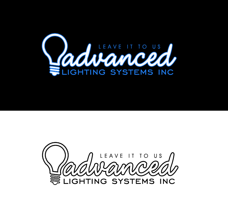 Logo Design by elmd - Entry No. 4 in the Logo Design Contest New Logo Design Needed for  Company Advanced Lighting Systems Inc..