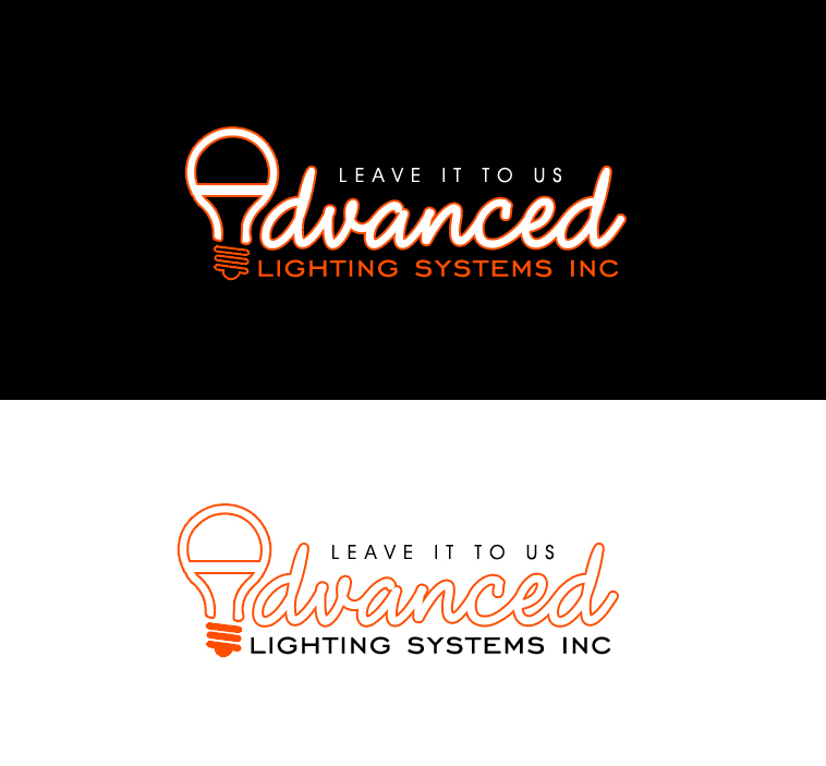 Logo Design by elmd - Entry No. 5 in the Logo Design Contest New Logo Design Needed for  Company Advanced Lighting Systems Inc..