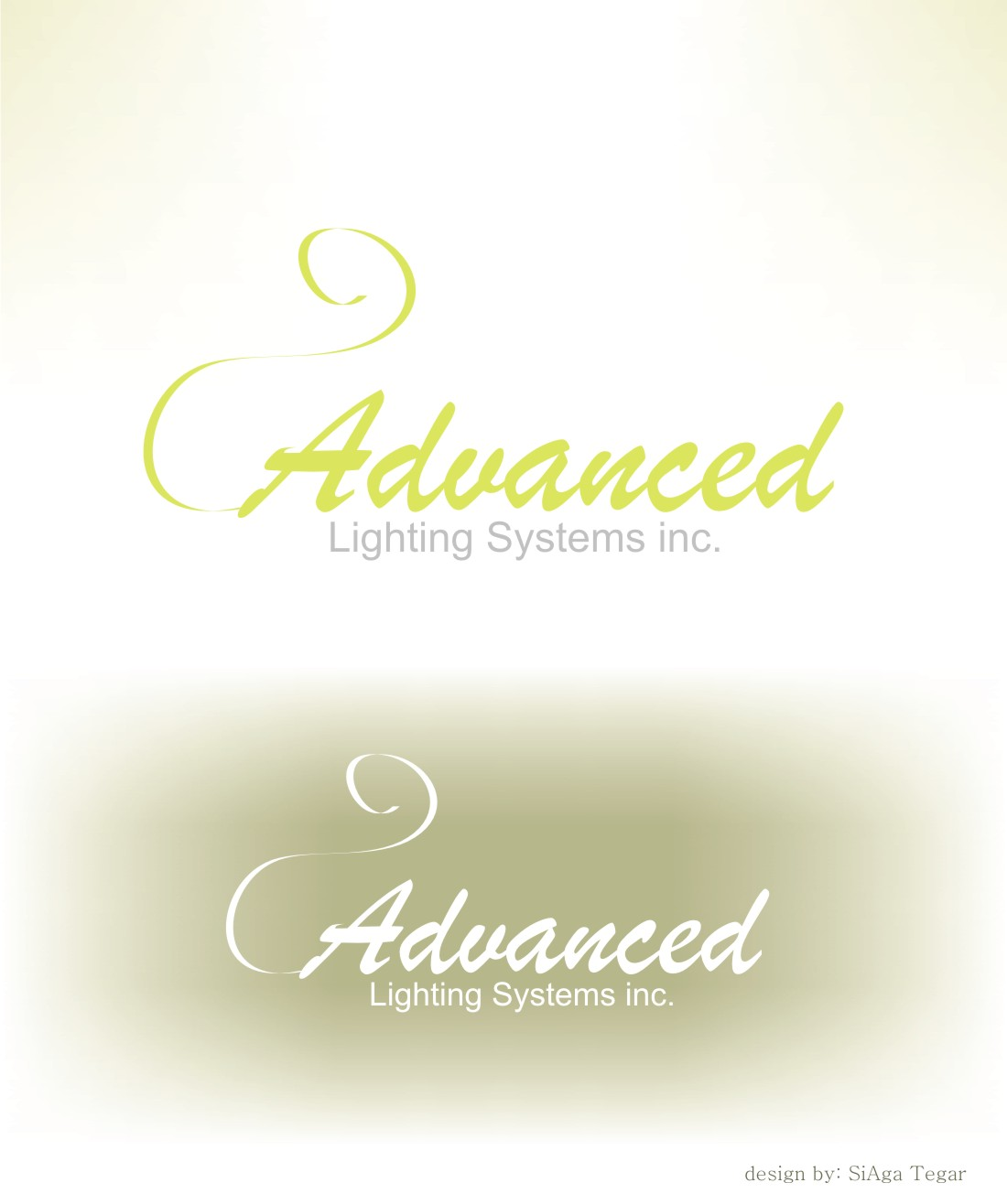 Logo Design by Siaga Tegar - Entry No. 7 in the Logo Design Contest New Logo Design Needed for  Company Advanced Lighting Systems Inc..