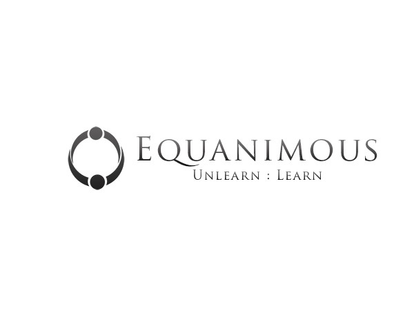 Logo Design by Mythos Designs - Entry No. 82 in the Logo Design Contest Logo Design : EQUANIMOUS : Productivity | Learning | Design.