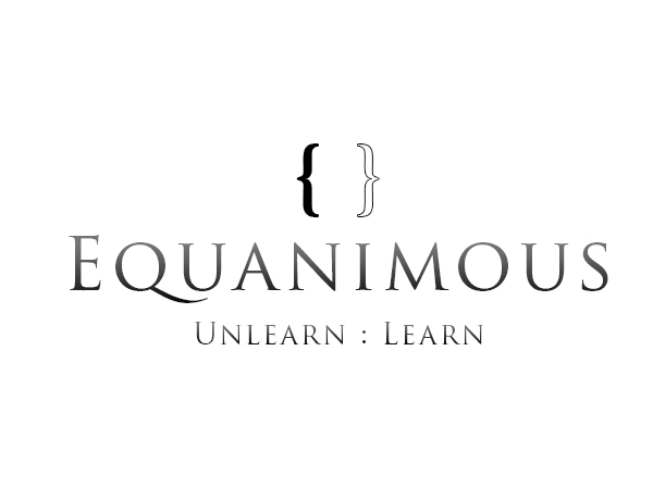 Logo Design by Mythos Designs - Entry No. 84 in the Logo Design Contest Logo Design : EQUANIMOUS : Productivity | Learning | Design.