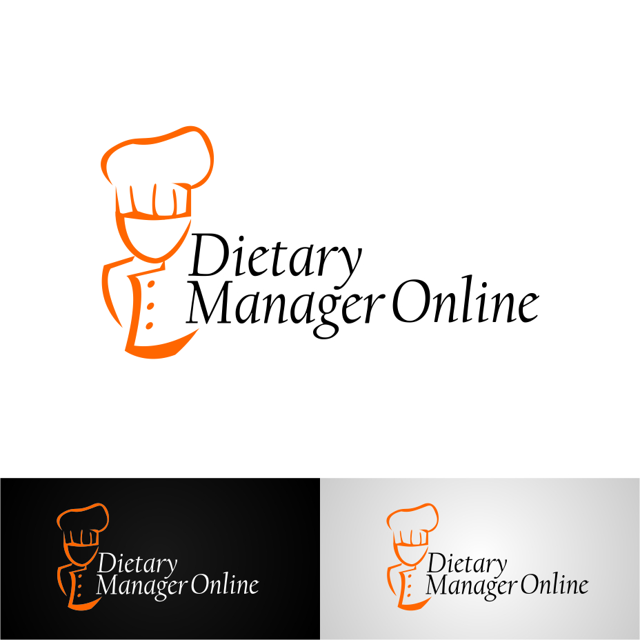 Logo Design by hidra - Entry No. 30 in the Logo Design Contest Fun Logo Design for Dietary Manager Online.