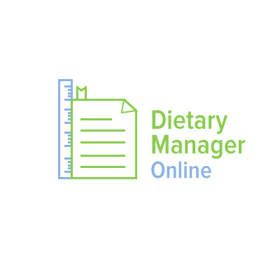 Logo Design by Private User - Entry No. 31 in the Logo Design Contest Fun Logo Design for Dietary Manager Online.