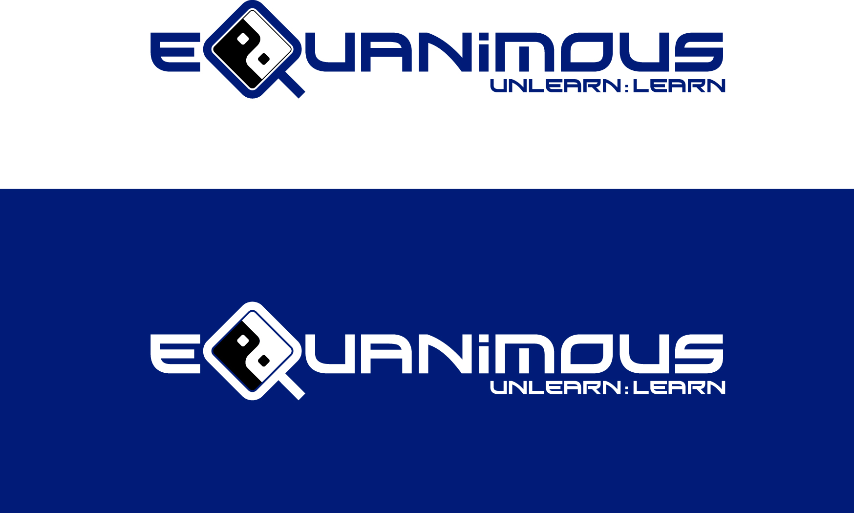 Logo Design by Wilfredo Mendoza - Entry No. 90 in the Logo Design Contest Logo Design : EQUANIMOUS : Productivity | Learning | Design.