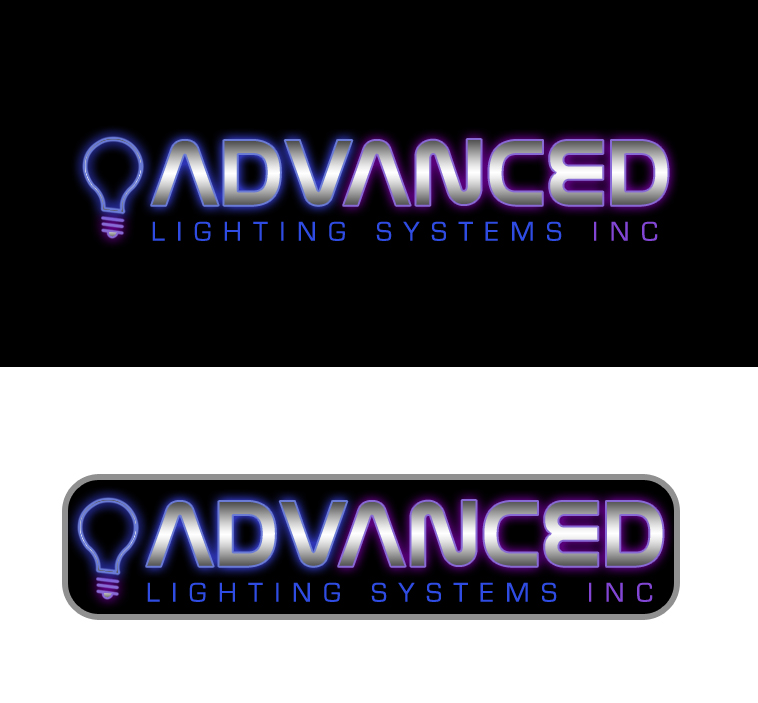 Logo Design by elmd - Entry No. 31 in the Logo Design Contest New Logo Design Needed for  Company Advanced Lighting Systems Inc..