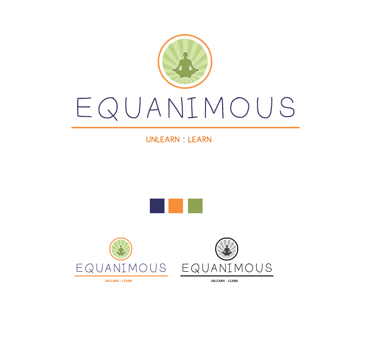 Logo Design by elmd - Entry No. 91 in the Logo Design Contest Logo Design : EQUANIMOUS : Productivity | Learning | Design.