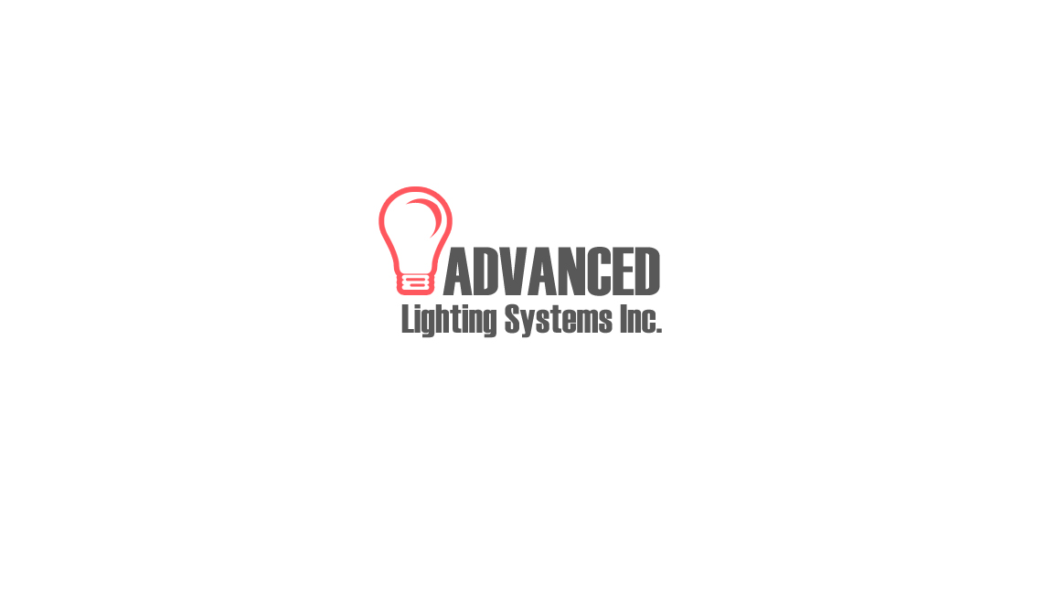 Logo Design by Tathastu Sharma - Entry No. 36 in the Logo Design Contest New Logo Design Needed for  Company Advanced Lighting Systems Inc..