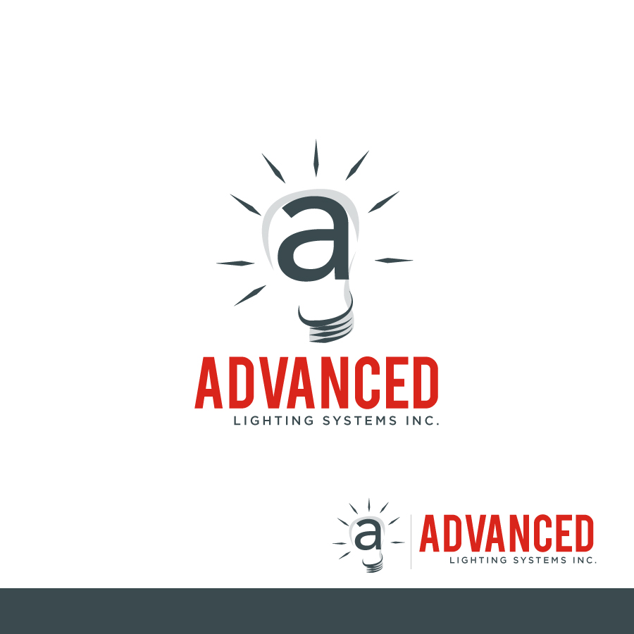 Logo Design by Edward Goodwin - Entry No. 42 in the Logo Design Contest New Logo Design Needed for  Company Advanced Lighting Systems Inc..