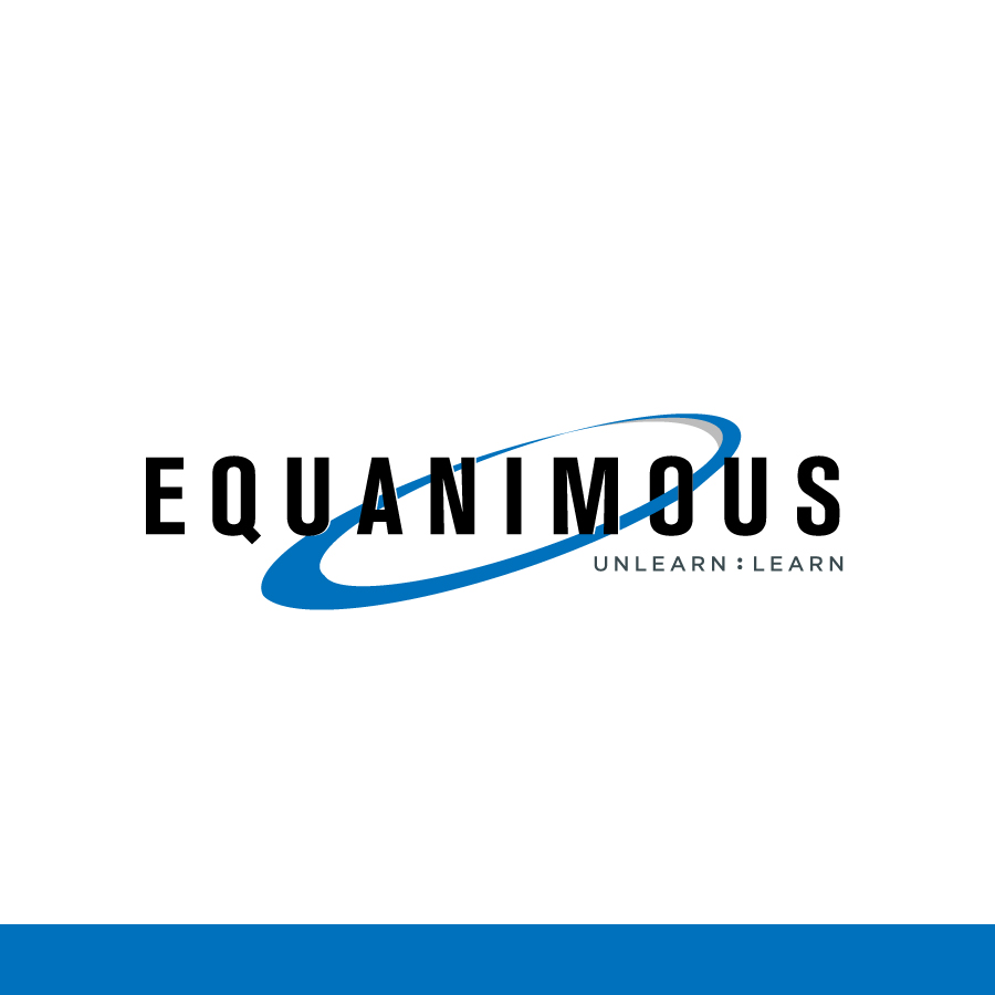 Logo Design by Edward Goodwin - Entry No. 96 in the Logo Design Contest Logo Design : EQUANIMOUS : Productivity | Learning | Design.