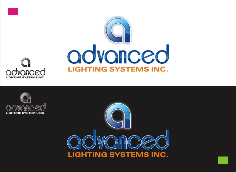 Logo Design by Private User - Entry No. 48 in the Logo Design Contest New Logo Design Needed for  Company Advanced Lighting Systems Inc..