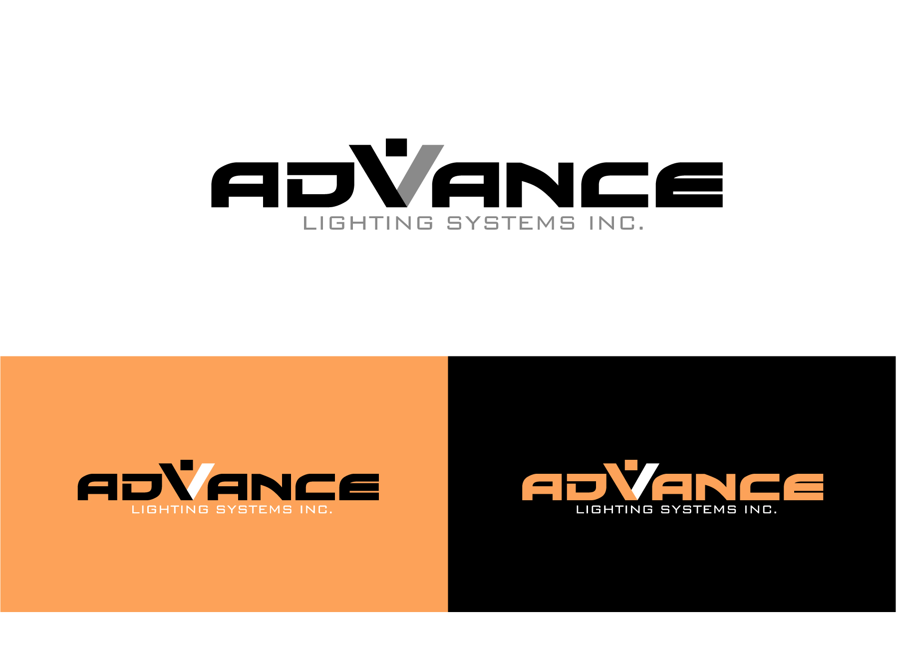 Logo Design by Wilfredo Mendoza - Entry No. 49 in the Logo Design Contest New Logo Design Needed for  Company Advanced Lighting Systems Inc..