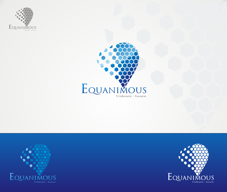 Logo Design by Joe Teach - Entry No. 105 in the Logo Design Contest Logo Design : EQUANIMOUS : Productivity | Learning | Design.