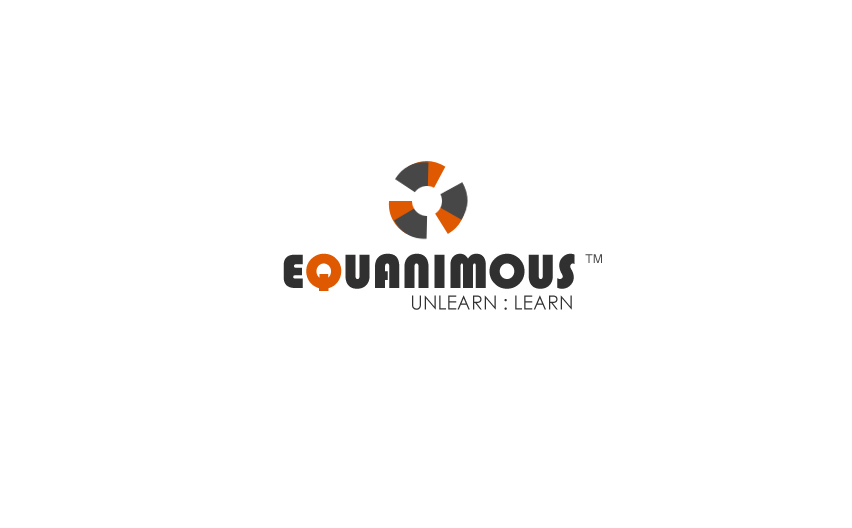 Logo Design by Tathastu Sharma - Entry No. 106 in the Logo Design Contest Logo Design : EQUANIMOUS : Productivity | Learning | Design.