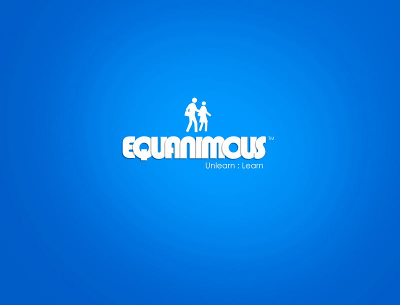 Logo Design by Tathastu Sharma - Entry No. 108 in the Logo Design Contest Logo Design : EQUANIMOUS : Productivity | Learning | Design.