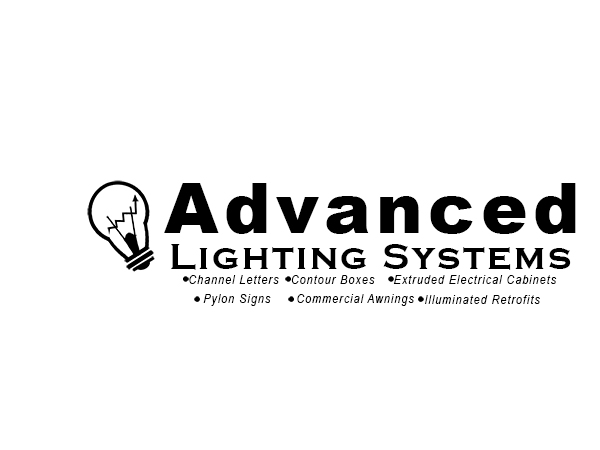 Logo Design by Mythos Designs - Entry No. 54 in the Logo Design Contest New Logo Design Needed for  Company Advanced Lighting Systems Inc..