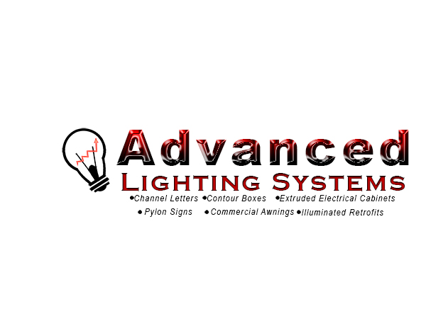 Logo Design by Mythos Designs - Entry No. 55 in the Logo Design Contest New Logo Design Needed for  Company Advanced Lighting Systems Inc..